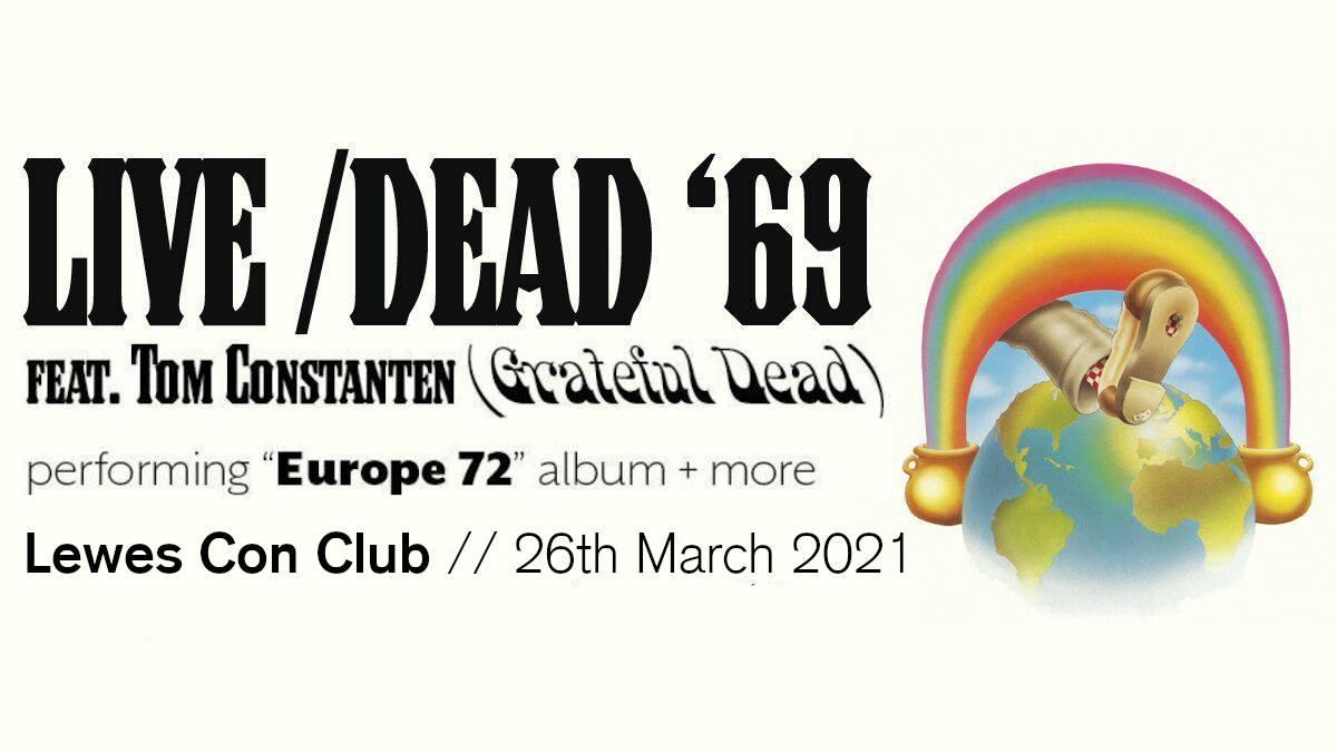 LIVE DEAD '69 [Grateful Dead] perform Europe '72