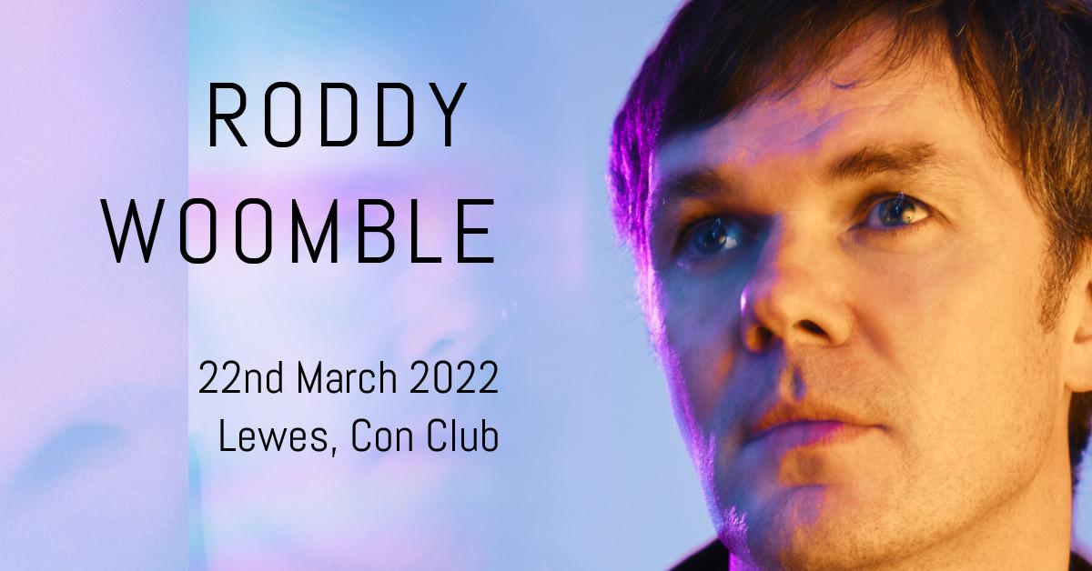 Roddy Woomble - New Date