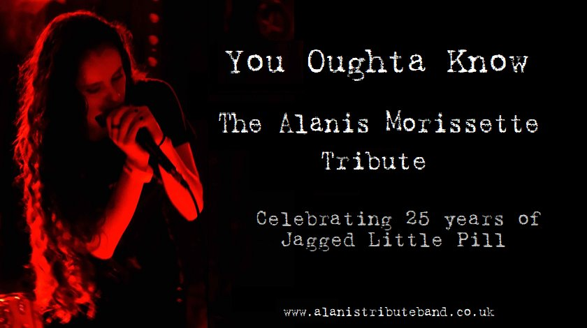 Alanis Morissette performed by You Oughta Know