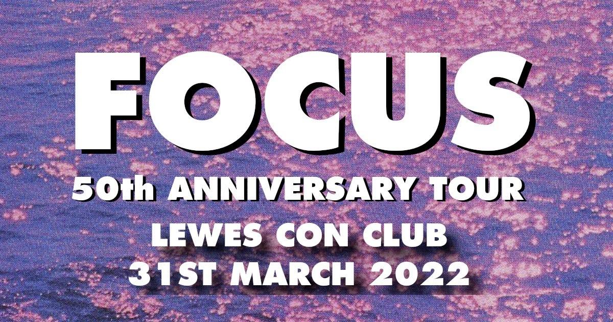 Focus 50th Anniversary Tour