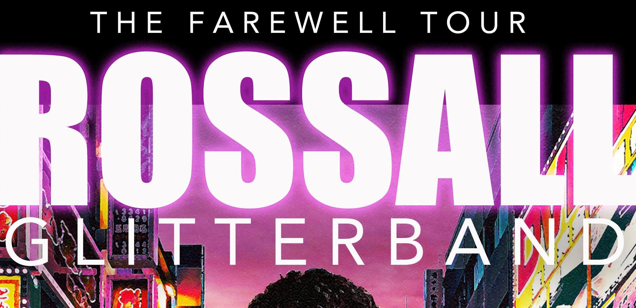 John Rossall's Glitter band - The Farewell tour