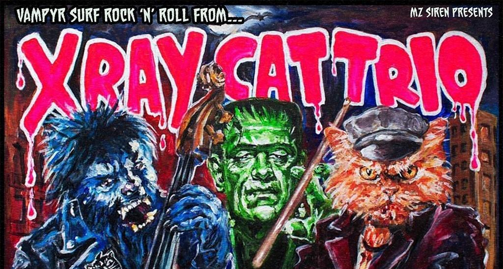 X-Ray Cat Trio / The Defiant Ones / The Mandelbrot Shakes