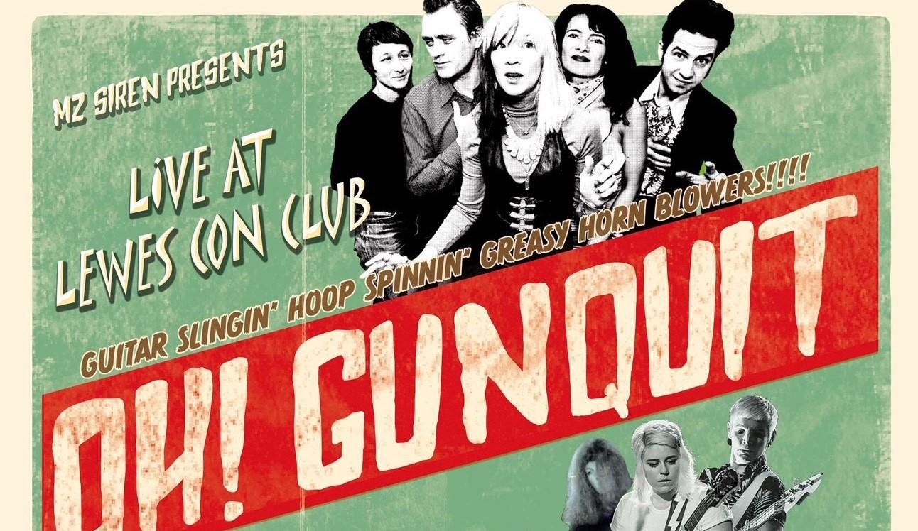 Oh! Gunquit - Thee Dagger Debs - The Atom Jacks